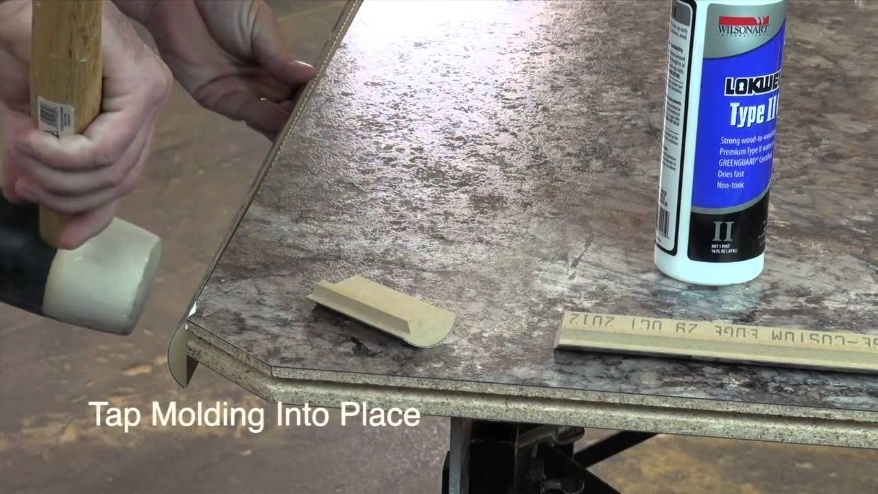 Wilsonart Decorative Edges Installation Youtube