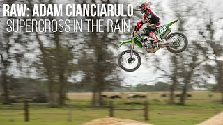 Download Video RAW: Adam Cianciarulo - Supercross in the Rain at the Moto Sandbox MP3 3GP MP4