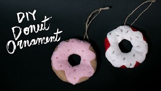 DIY Donut Ornament