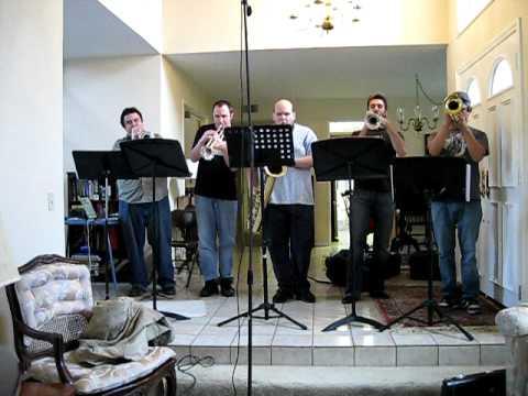 Trumpet Boredom - Hawaii Five-O / MacGyver Theme