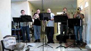 Trumpet Boredom - Hawaii Five-O / MacGyver Theme