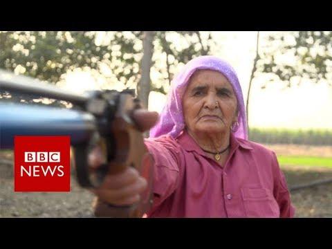 Champion granny first picked up a gun at 60 - BBC News