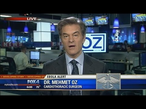 Dr Oz on Ebola