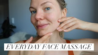 Easy 10 Minute Everyday Full Face Massage