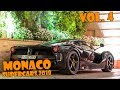 SUPERCARS IN MONACO 2017 - VOL. 4 (LaFerrari, 918 Spyder, F40, N-Largo, etc ... ) [2018 HQ]