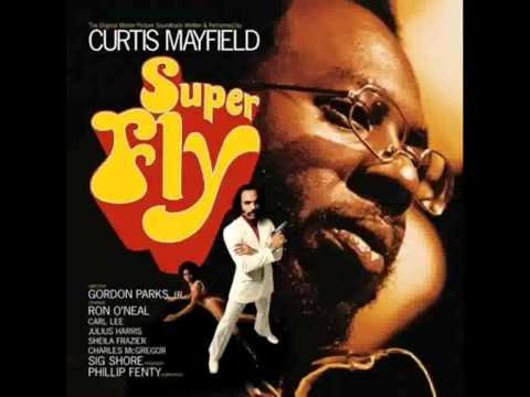 Curtis Mayfield  Superfly with lyrics  HD