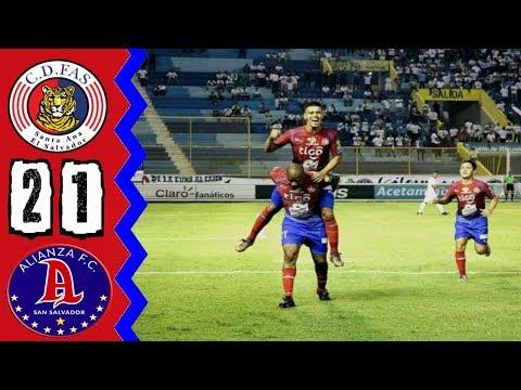 CD FAS [2] vs Alianza FC [1] FULL GAME: 4.5.2018: ES Clausura 2018