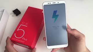 Unboxing Xiaomi Redmi 5 Plus 64Gb Global
