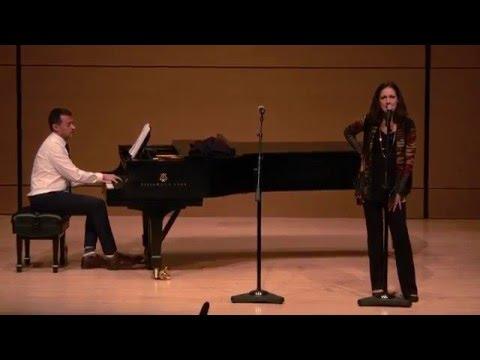 Kaitlin Hopkins with Andrew Lippa