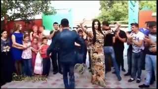 Супер танцы на свадьбе в Чечне. Зажигательная лезгинка