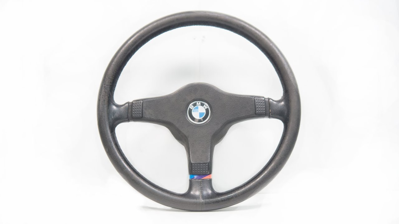 BMW E30 M-Technic Sports Steering Wheel [Restoration]