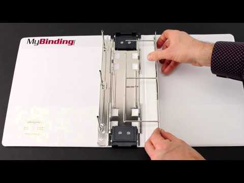 Wilson Jones White Hanging View Binders Demo W393 14W W365 44W W365 49W