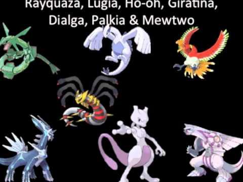 Top Eleven Most Powerful Legendary Pokemon  YouTube