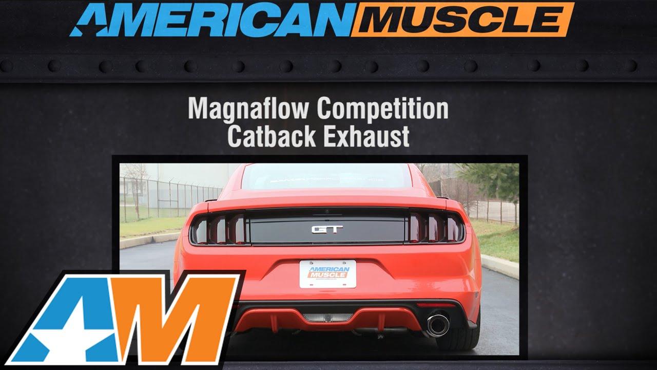 2015 2016 Mustang Gt Magnaflow Exhaust Sound Clip