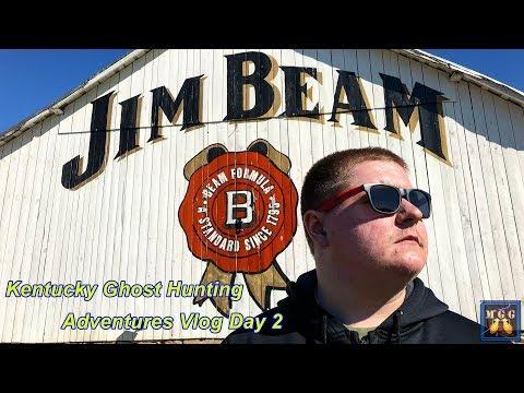 Jim Beam Distillery - Kentucky Ghost Hunting Adventures Vlog Day 2