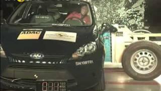 Краш-тест и видео краш-тест Ford Fiesta (Форд Фиеста)