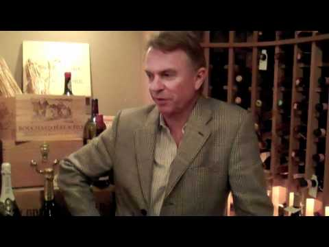 Sam Neill and his Two Paddocks pinot noir