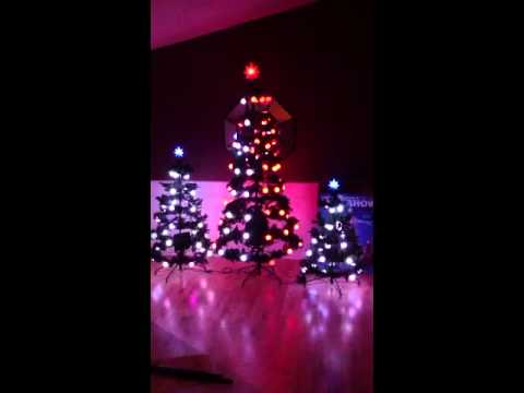 Gemmy Incredible Holiday Lightshow Christmas Trees