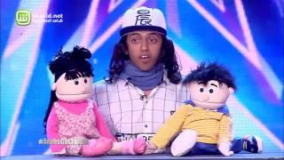 Arabs Got Talent - مرحلة تجارب الاداء - مصر - ابانوب فلكس