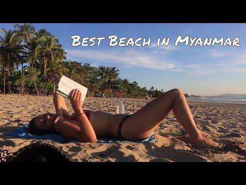 Amazing Beach in Myanmar