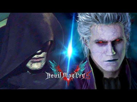 Devil May Cry 5 - All Vergil Fights Cutscenes (Vergil Vs. Dante Fights) DMC 5