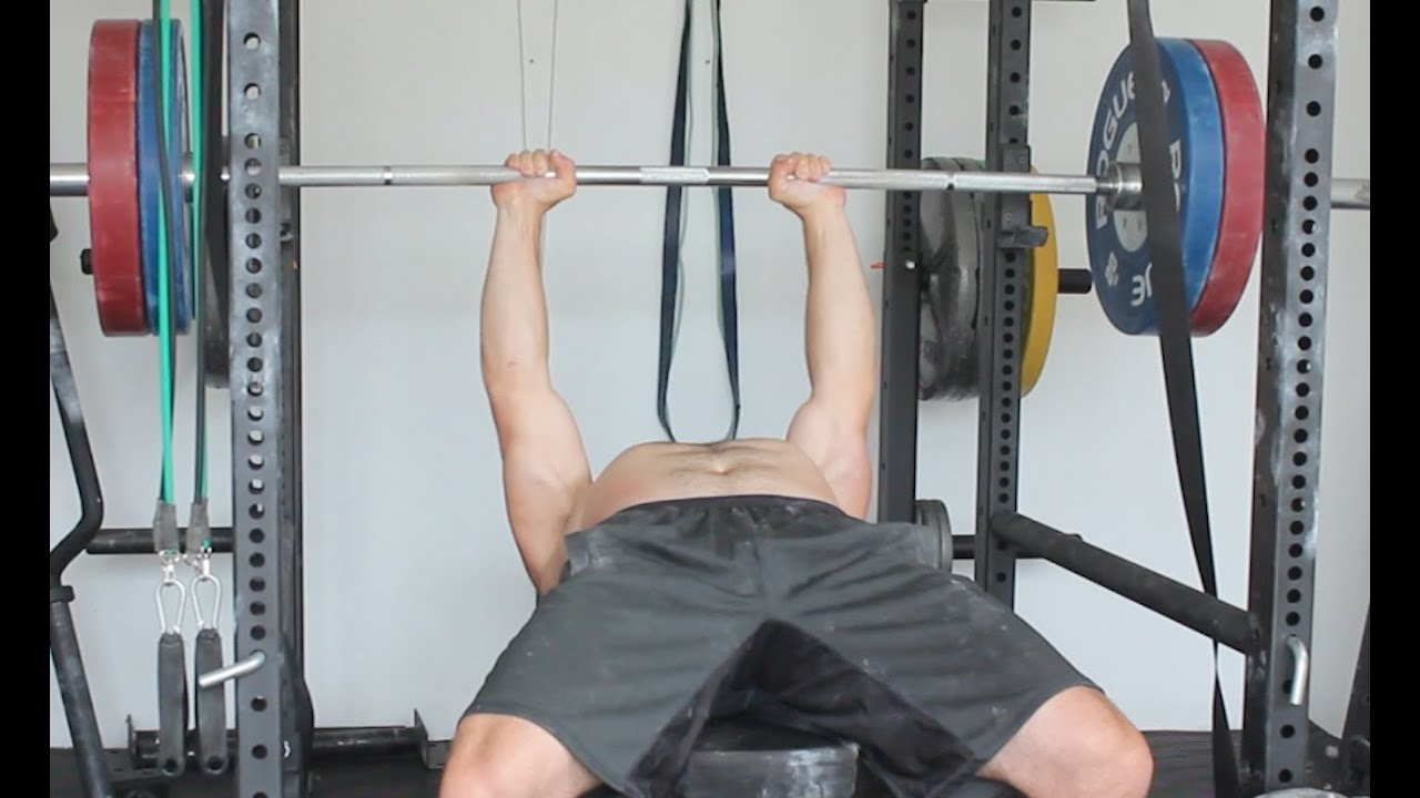 Close Grip Bench Press Weighted Pull Ups Youtube