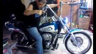 mw HD first ride after accident