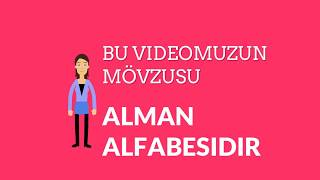 ALMAN HERIFLERI - ALMAN DILI  VIDEO 001