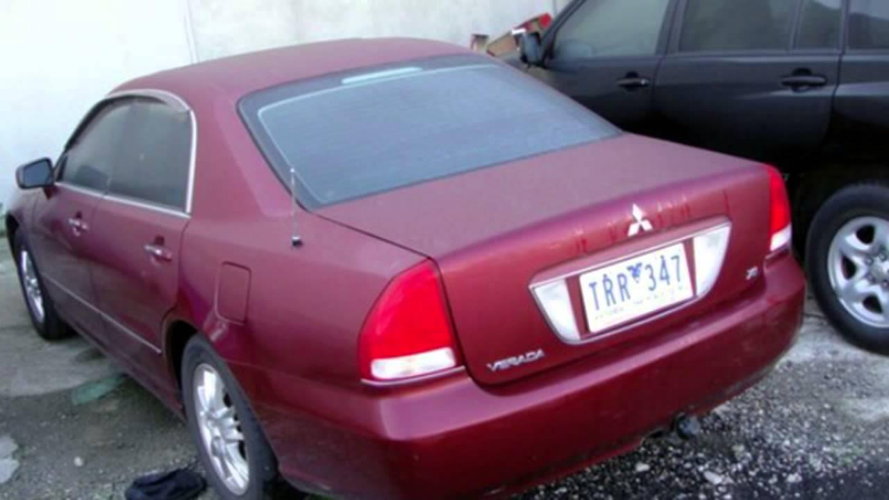 Mitsubishi verada 2004