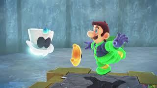 Super Luigi Odyssey Walkthrough Part 7 - Snow Kingdom + Shiveria