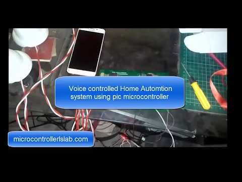 Voice Controlled Home Appliances System using pic microcontroller