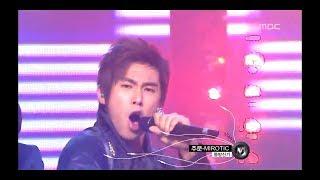 TVXQ - Mirotic, 동방신기 - 주문, Music Core 20081018