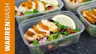 Meal Prep Chicken Salads - Tasty Lunches for the Week - Recipes by Warren Nash