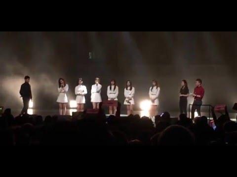 [Fancam] 160105 Apink Speaking English in Vancouver | Pink Memory Tour