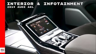 2019 Audi A8L Luxury Interior & Infotainment