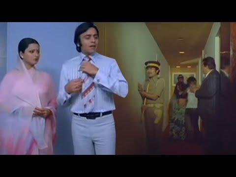 Hotel Raid, Vinod And Rekha In Trouble - Ghar Scene