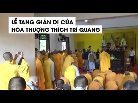"""Lễ Tang """"không Phúng điếu, Không Bàn Thờ"""" Của Hòa Thượng Thích Trí Quang"""