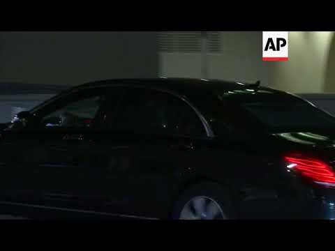 UK PM departs after working dinner with EU officials