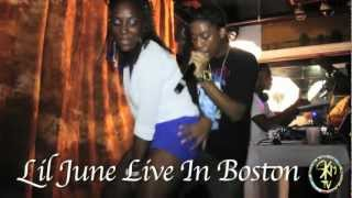 Lil June ( Live In Boston ) On Tour