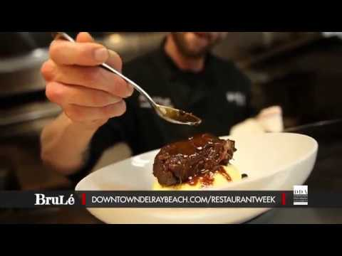 Dine Out Downtown Delray Restaurant Week 2018: Brule Bistro