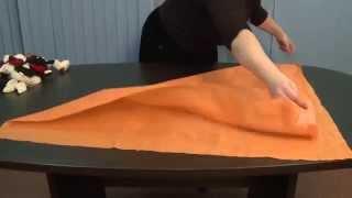 Уроки рукоделия. Как быстро сделать удобную сумку.
