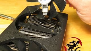 Replacing Fans on the Sapphire Radeon NITRO+ RX470 OC 4GB GDDR5 11256-01-20G Video card