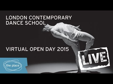 Virtual Open Day 2015 at London Contemporary Dance School