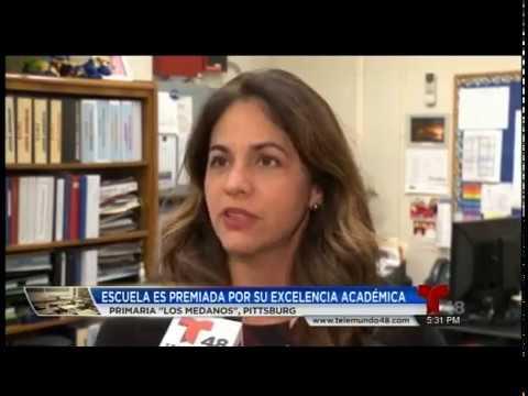Telemundo Covers Mr. Torlakson's Visit to Los Medanos Elementary School