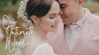 OUR INTIMATE WEDDING | Jessy Mendiola