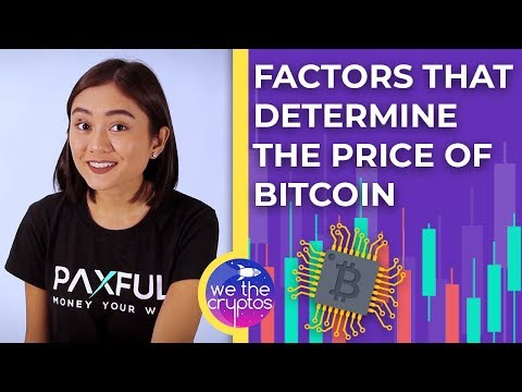 Factors That Determine The Price Of Bitcoin? ????????