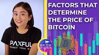 Factors that Determine the Price of Bitcoin? 💲💲