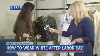 How to wear white after Labor …