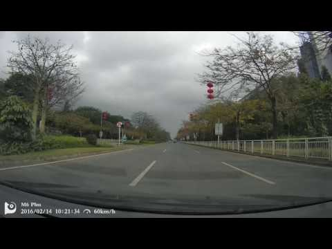 DDPai M6 Plus Video Sample 1