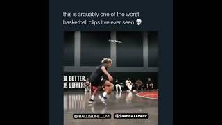 The worst basketball clip of all time!? 💀